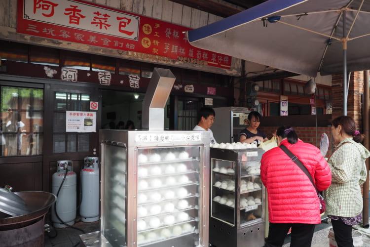 台湾一短い老街、路地裏でタイムスリップ 台三線ロマンチック街道