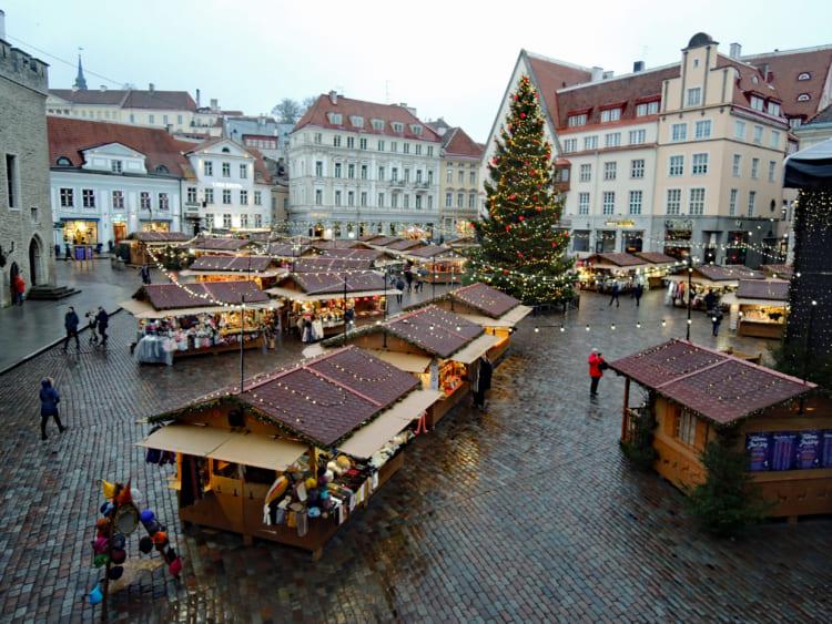 「ヨーロッパでベスト」の評価も エストニア・タリンのクリスマスマーケット