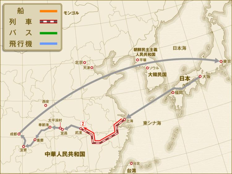 上海から武漢へ。再び「12万円で世界を歩く」中国・長江編2。