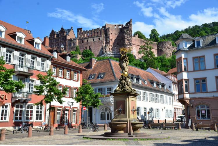 廃虚の城はロマンチック? 学生牢残る大学街 ドイツ・ハイデルベルク