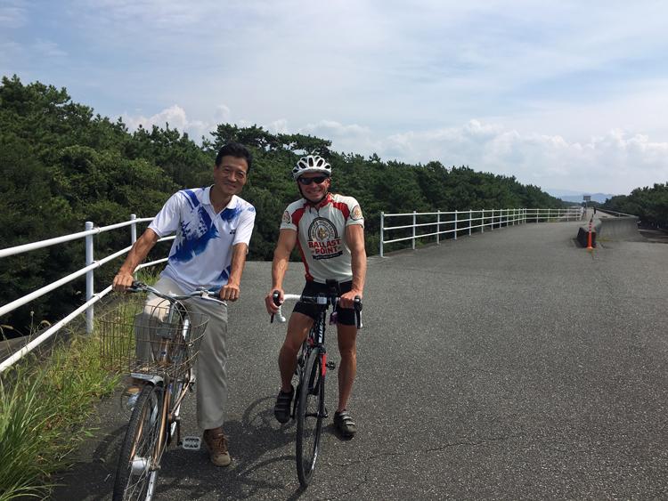 ダンさんと東海道ちょっと自転車旅 (2)茅ケ崎~沼津