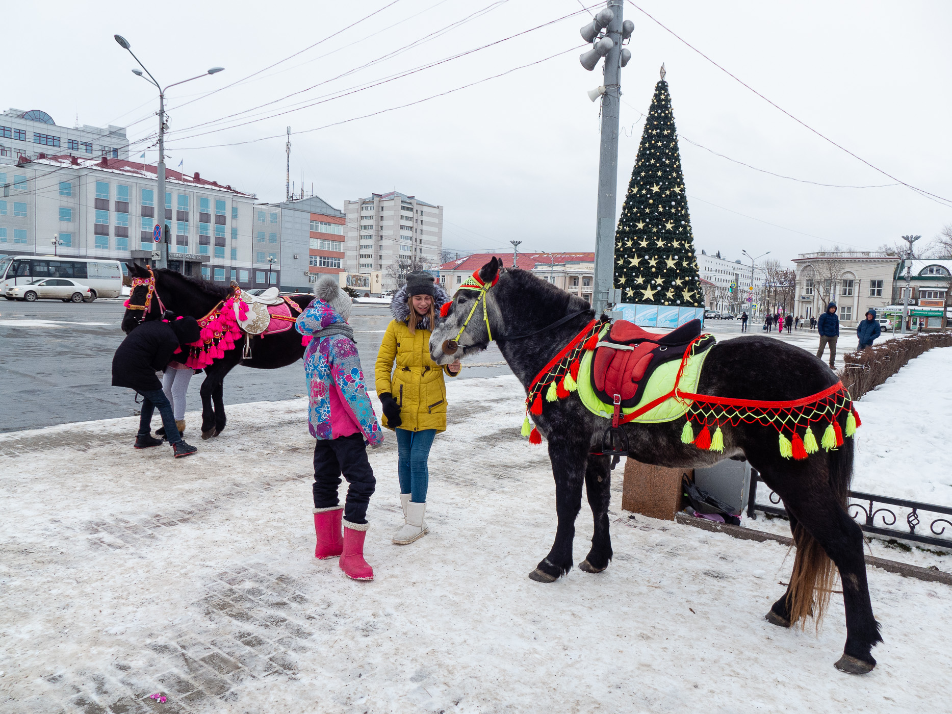 ユジノサハリンスクの街歩き