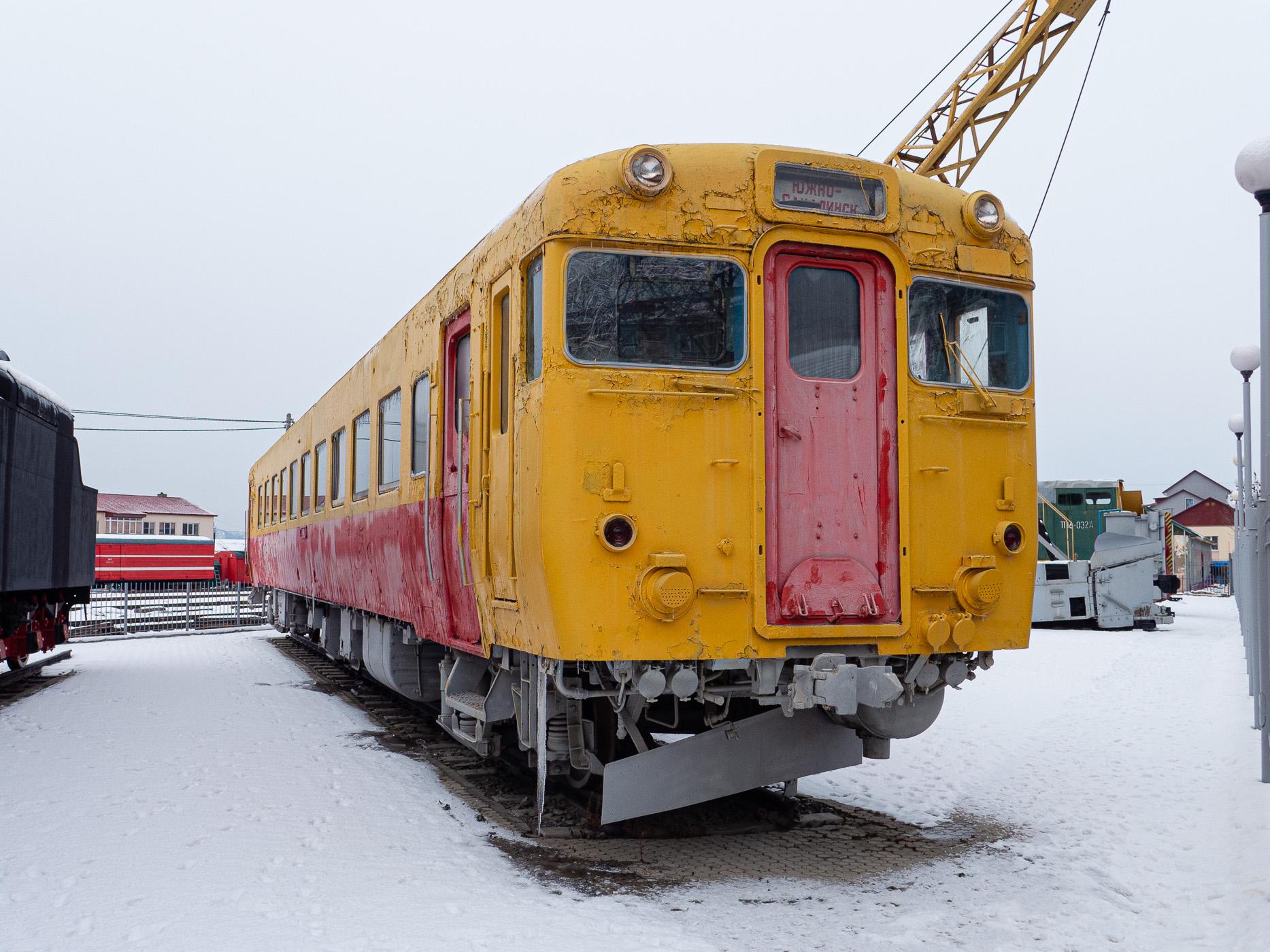ユジノサハリンスクで展示されていた車両