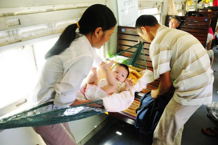 ベトナムの長距離列車
