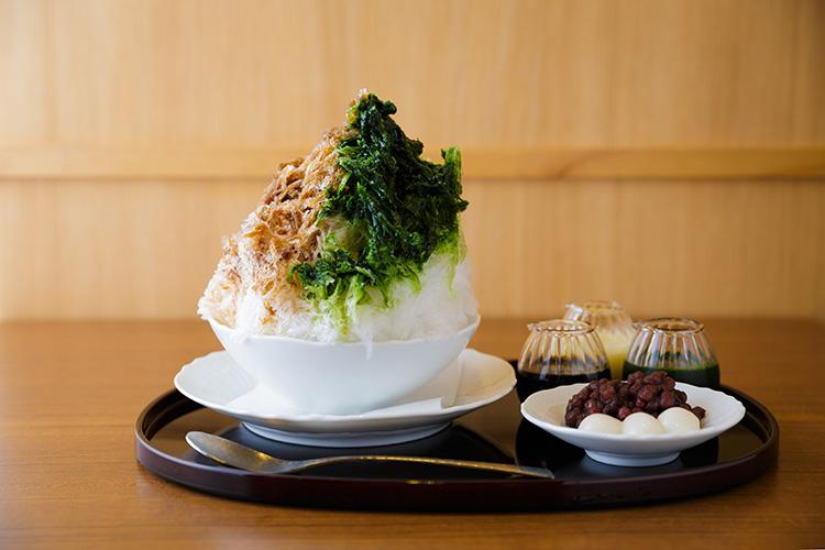 """""""あいがけ""""で味わう京都のかき氷の新定番「甘味と和食 香穂」"""
