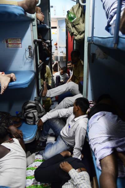 インドの列車