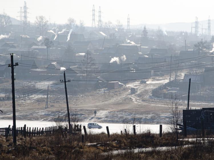 冬のシベリア