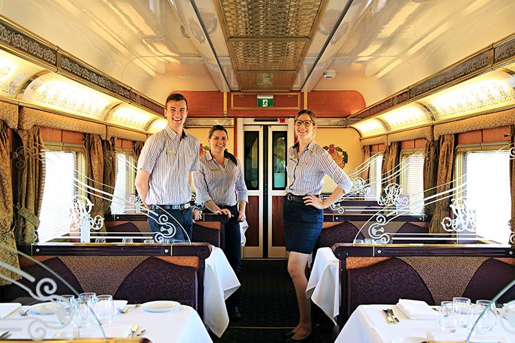 豪華寝台列車「ザ・ガン」でゆく、オーストラリア縦断3000キロの旅