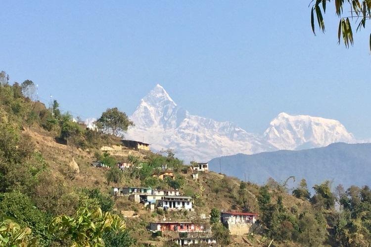 山並み、集落、丘を楽しめるトレッキングへ ネパールひとり旅#3