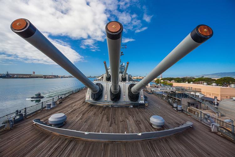 パールハーバーの戦艦ミズーリ記念館 戦争について考えられる場所