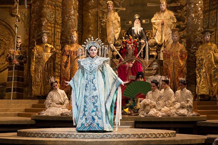 「トゥーランドット」©Marty Sohl/Metropolitan Opera