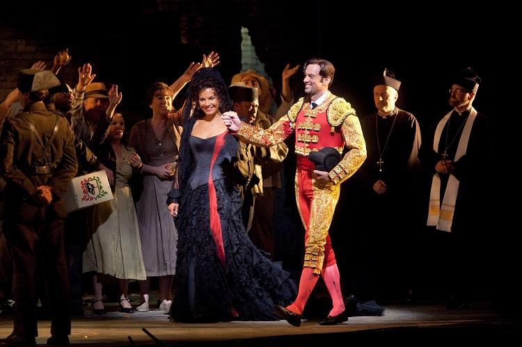 「カルメン」©Marty Sohl/Metropolitan Opera