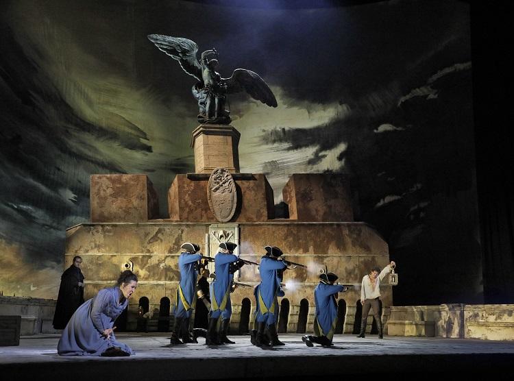 「トスカ」©Ken Howard/Metropolitan Opera