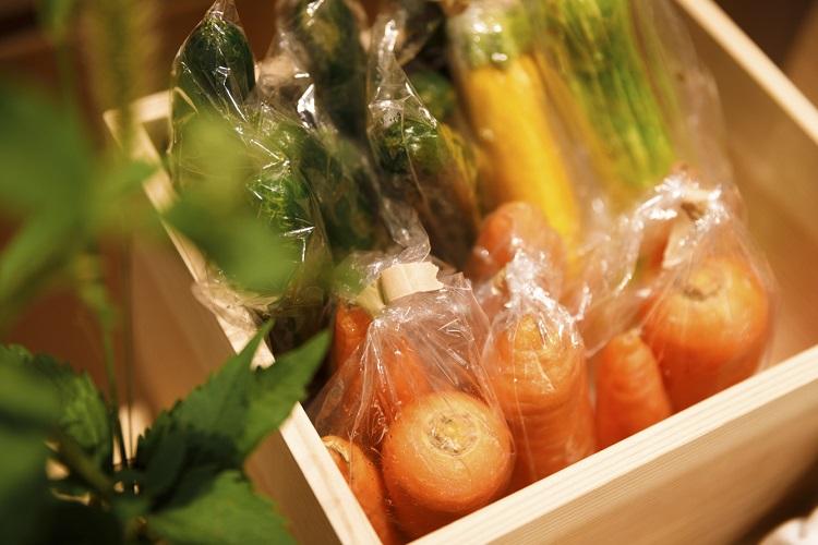 野菜を買うこと、食べることが生産者の応援に