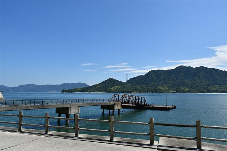 大久野島の海岸