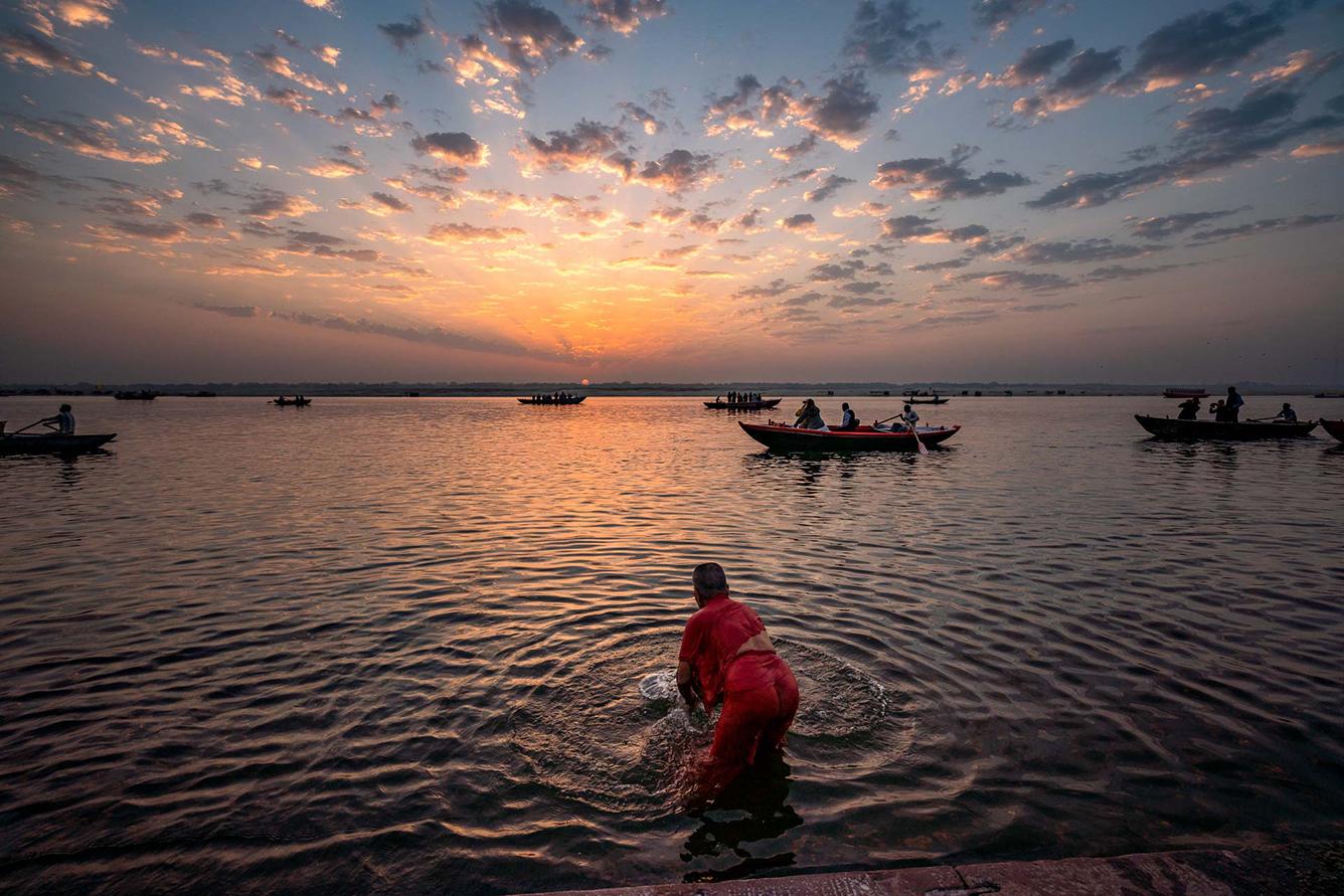 濃密なインドらしさ、聖地バラナシの「美しき混沌」