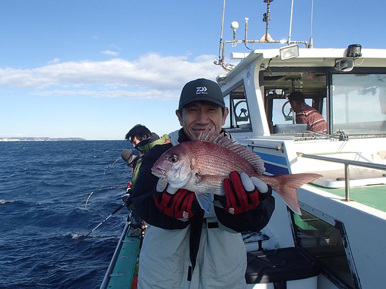 まるで「ポニョ」 海底の巣穴から高級魚アマダイを釣り上げろ
