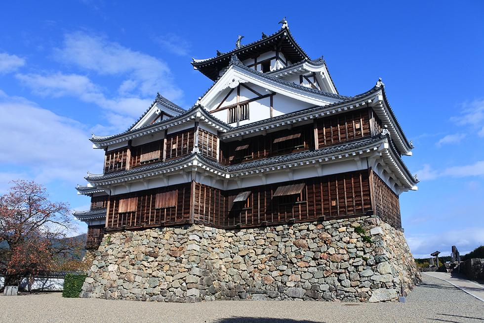 転用石の宝庫・福知山城 明智光秀の城・番外編(1)