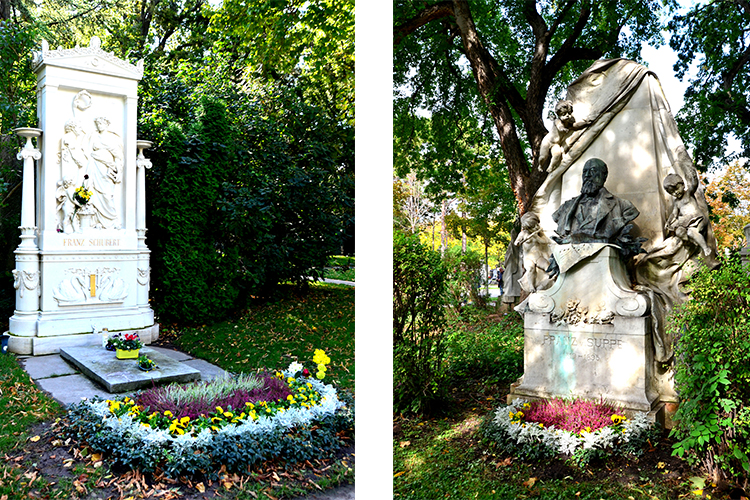 メトロノームの形、誰の墓? 散策して生きる喜び  ウィーン中央墓地