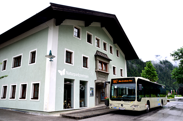 約40分で、オーストリアのヴァイスバッハに到着