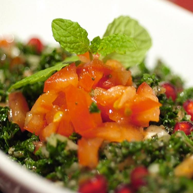 ひっくり返して食べるの? 伝統料理「マクルベ」 ~アルミーナ(パレスチナ料理)