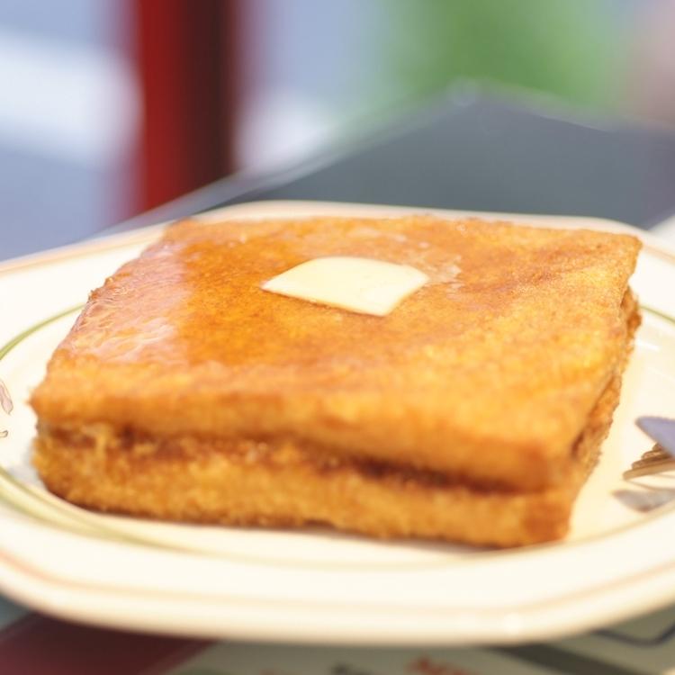 香港スタイルは甘くて甘い「懐かしの西多士」 ~香港 贊記茶餐廳/ホンコン・チャンキチャチャンテン(香港料理)