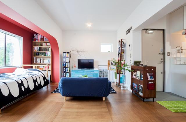 2階、3階の賃貸用住居の一室