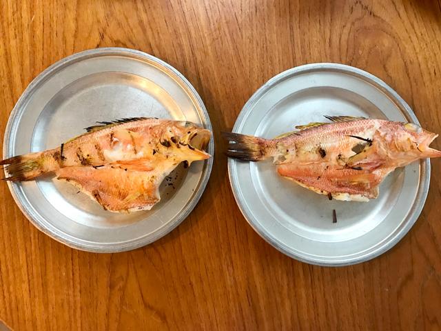 ただの焼き魚