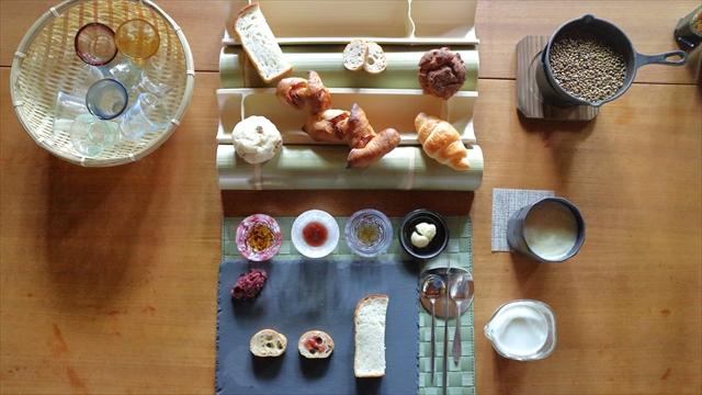 京都最高のパン朝食、全景