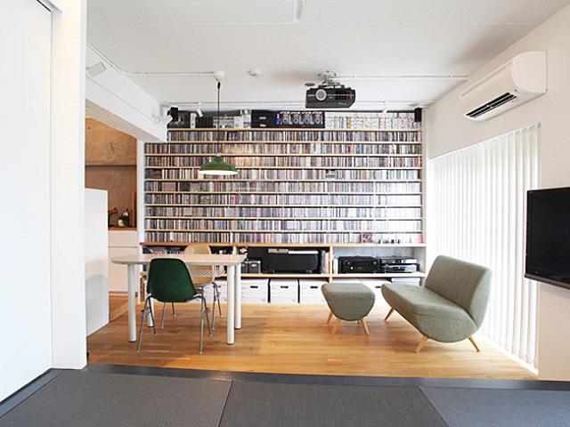 〈143〉立地重視&音楽重視。部屋中央に夫婦別々の「スタジオ」