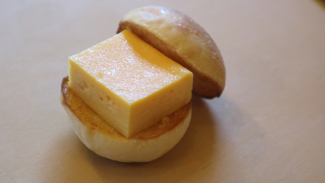 寿司屋の玉子サンド
