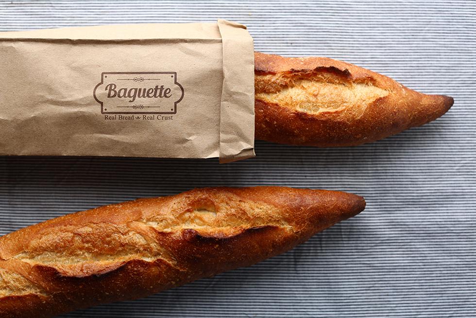 小麦粉の美味しさがダイレクトに伝わるナタリーさんのバゲット
