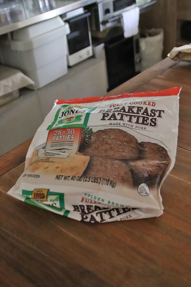 コストコで買った冷凍のハンバーガーパテは週末のブランチに重宝