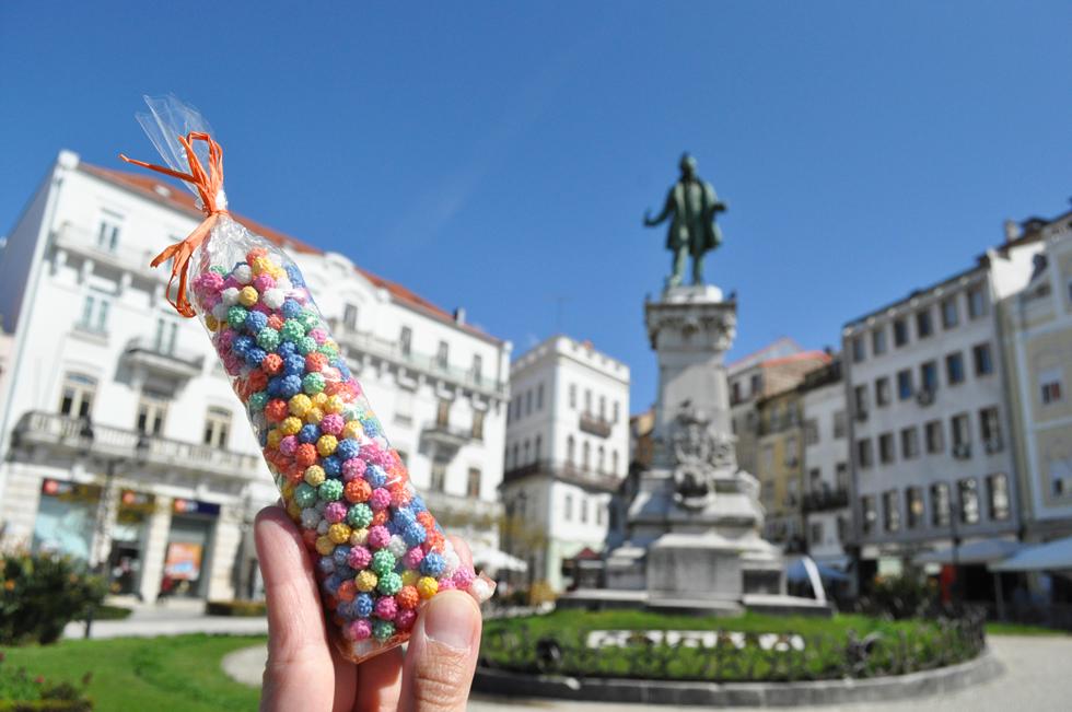 日本の伝統菓子、金平糖のルーツとされるお菓子。「Confeito(コンフェイト)」は、ポルトガル語で砂糖菓子という意味/ヨーロッパ・ポルトガル