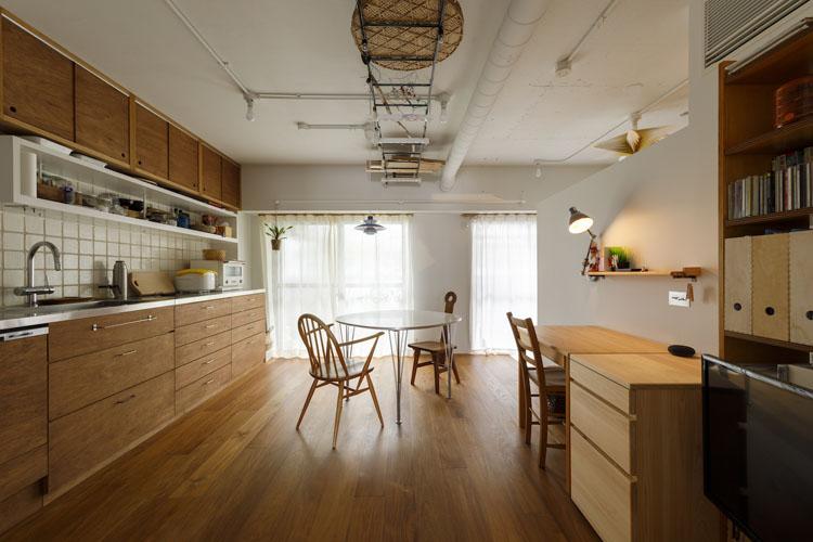 〈201〉実現できる? 50平米のコンパクトな家で家族それぞれのマイスペース