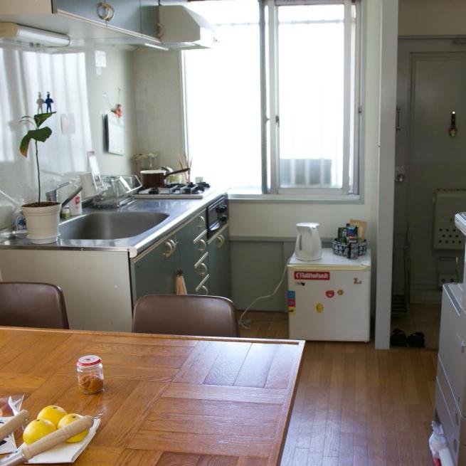 〈189〉家賃も広さも半分に。長居したくなる事務所の台所