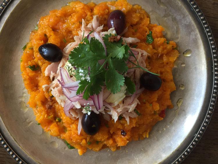 チュニジア食堂「Tounsia」のシャクシューカとサラダを再現!
