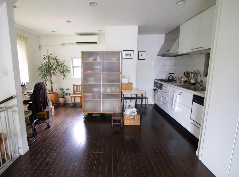 〈240〉週末しか立たない台所が育む情愛