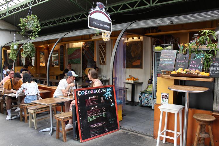 バナナのフライにルガイユ、南の風が吹くアンティル諸島料理「Corossol」