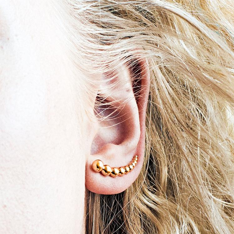 〈jewelry〉耳全体を飾る、意外性に熱視線