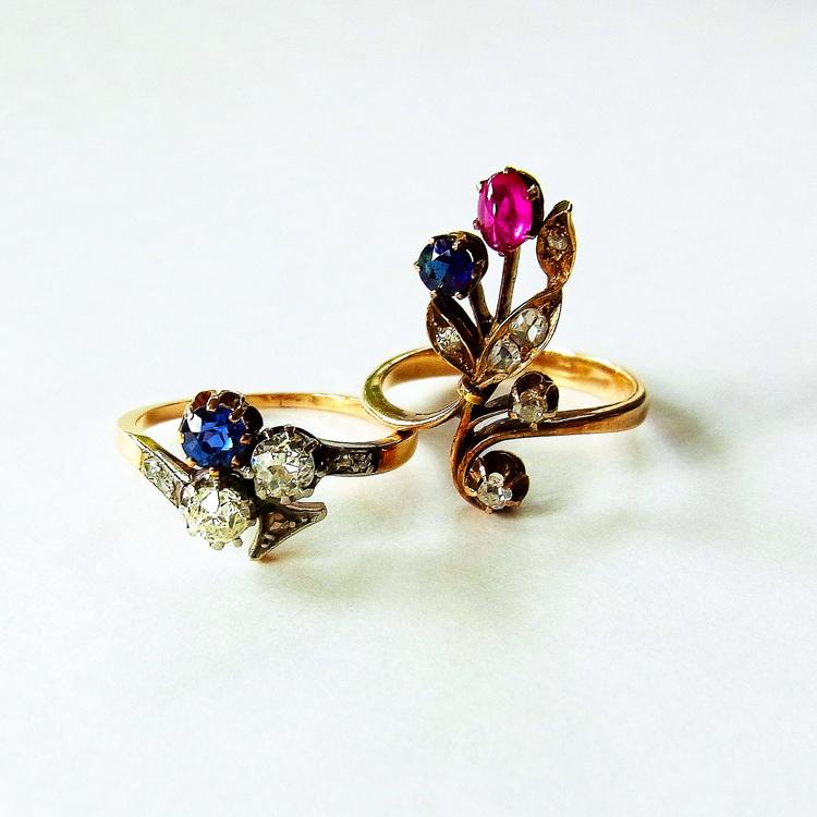 〈jewelry〉本物のアンティーク、手仕事の味