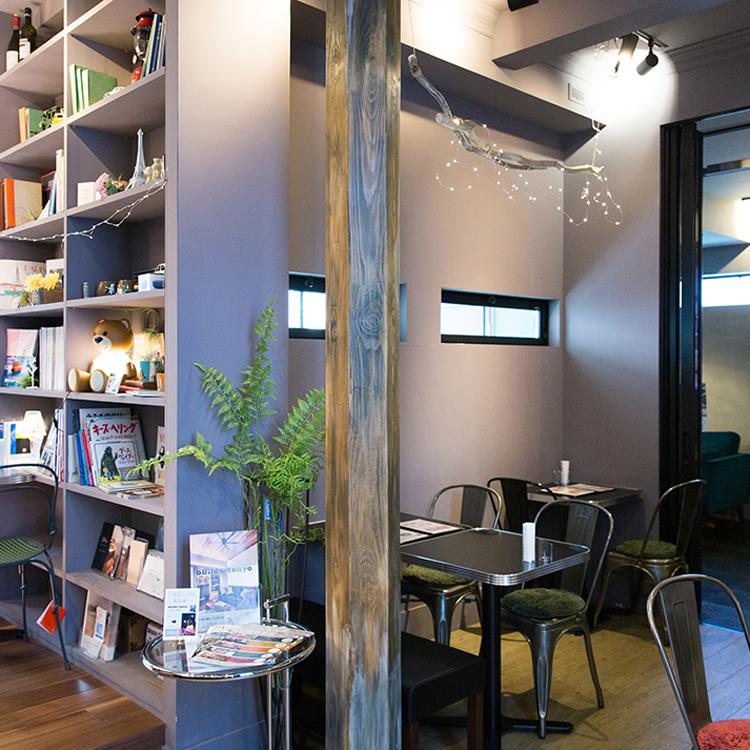 <132>住まいのプロが作るくつろぎ空間 「le builds café」