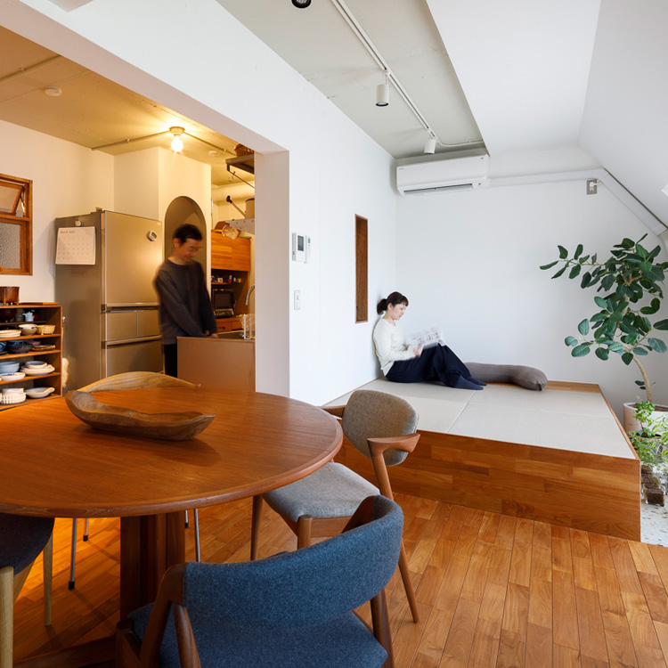 家は仕事を支える大切な場所。暮らしが心地よいと仕事もうまくいく