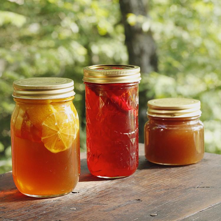 〈保存食のアイデア〉果実とハーブのコーディアルシロップ