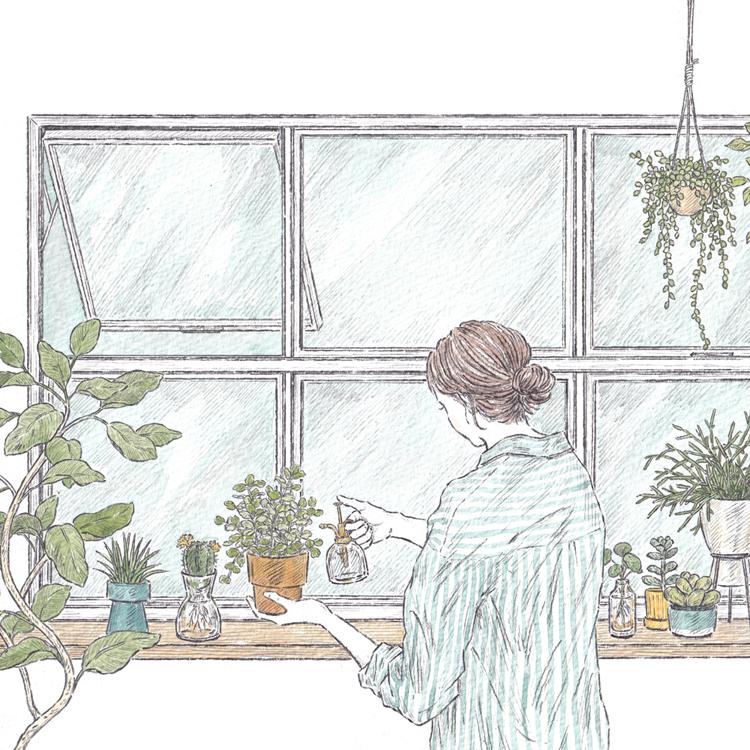 〈13〉植物からエネルギーをもらう/酒井真織さん