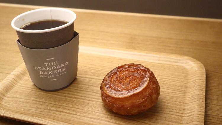 クイニーアマンと自家焙煎(ばいせん)コーヒー