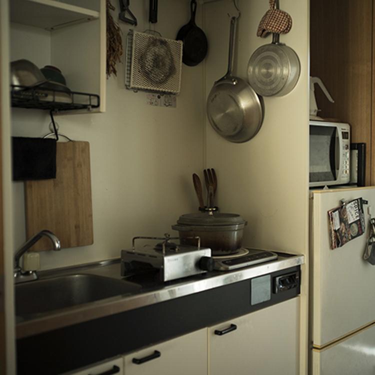 〈222〉27歳。ヨットの夢に備え、IHコンロ一つの調理台で本格料理を