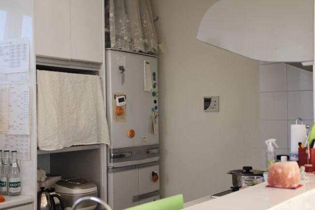 新築の建て売り住宅を購入し、台所は入居前にリフォームした