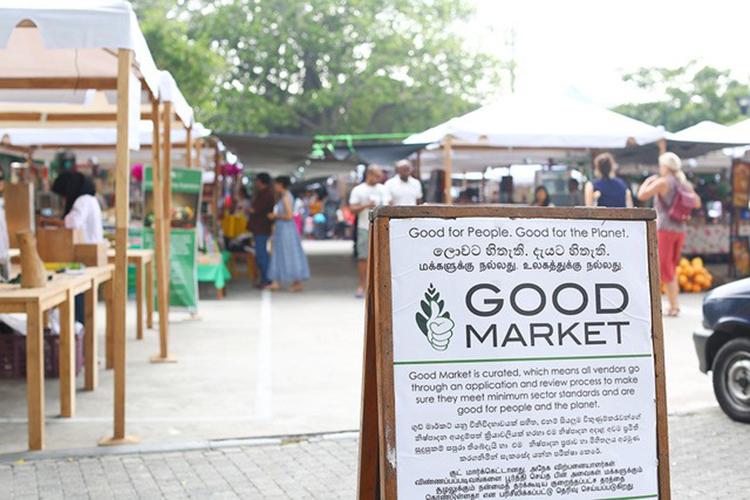 年々、エコへの意識の高まりと共に出店者が増えてきたグッド・マーケット