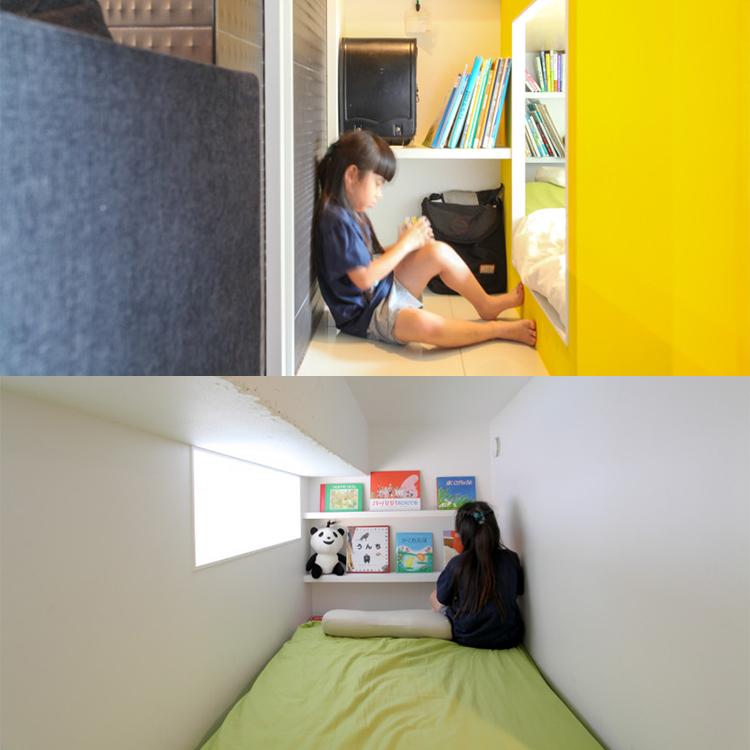 「コンパクトな家で個室」を実現した、アイデアあふれるリノベーション